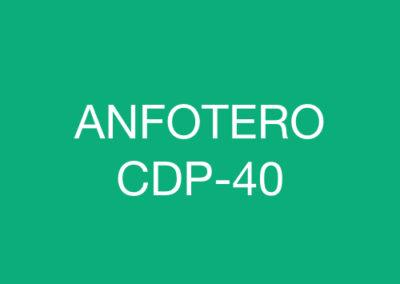 ANFOTERO CDP-40