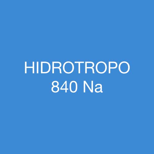 HIDROTROPO 840 Na