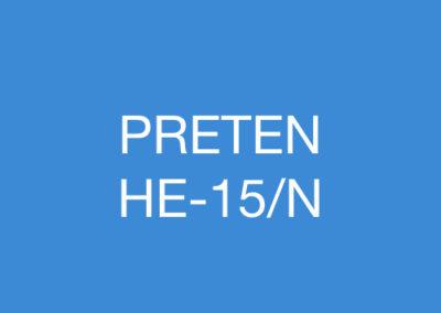 PRETEN HE-15/N