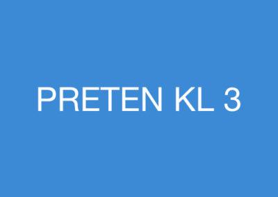PRETEN KL 3